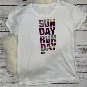 Lucy Sunday Run Day White T-Shirt